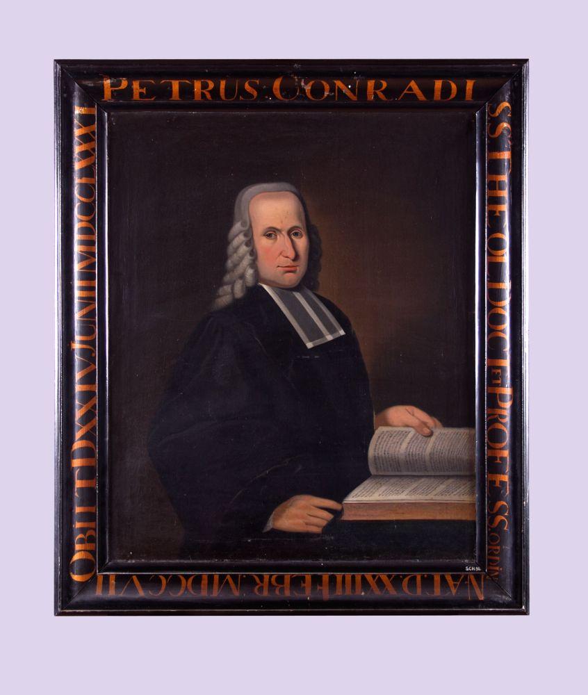 Portret van Petrus Conradi