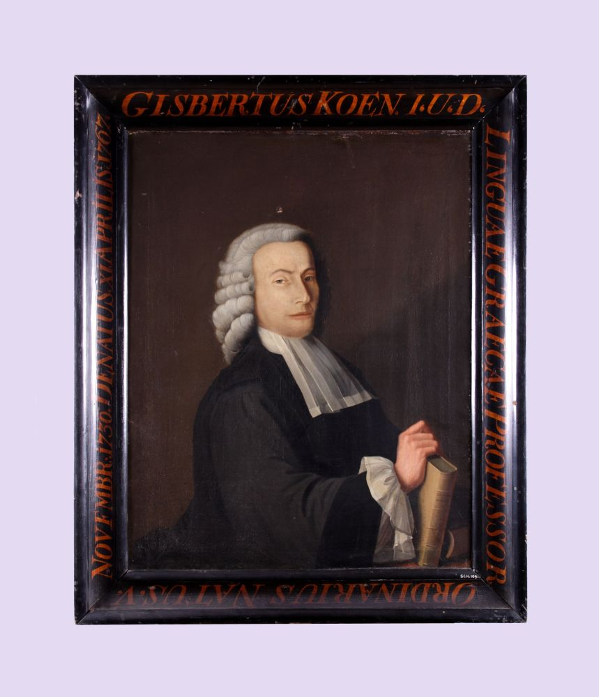 Portret van Gijsbert Koen door Matthijs Accama