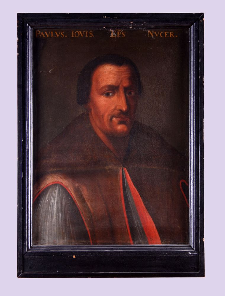 Portret van Paulus Jovius of Paolo Giovio