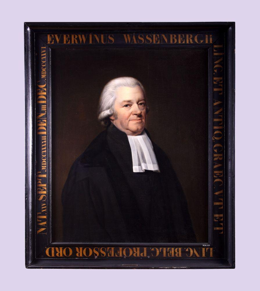 Portret van Everwinus Wassenbergh door Willem Bartel van der Kooi