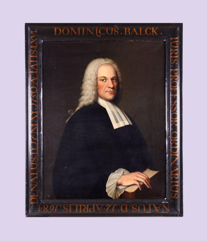 Portret van Dominicus Balck door Bernardus Accama