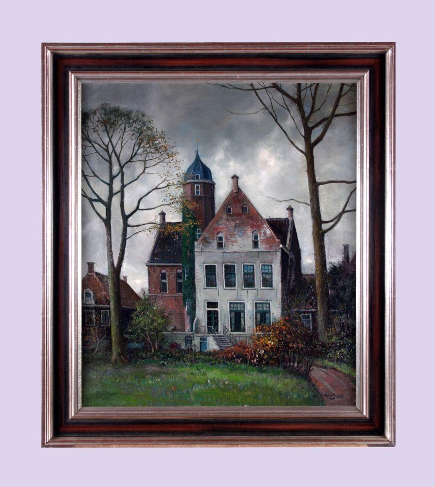 Collectie nederland musea monumenten en archeologie - Schilderij kooi d trap ...