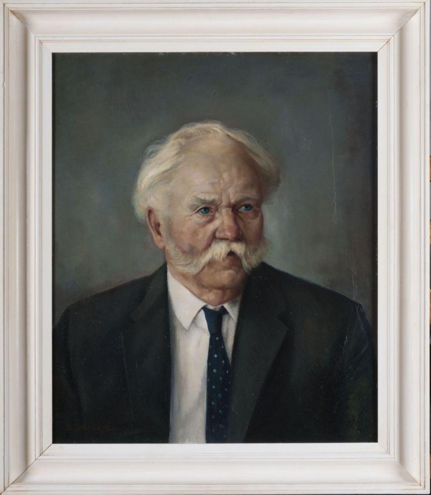Portret van Rinze Alkema door Bouke van der Sloot