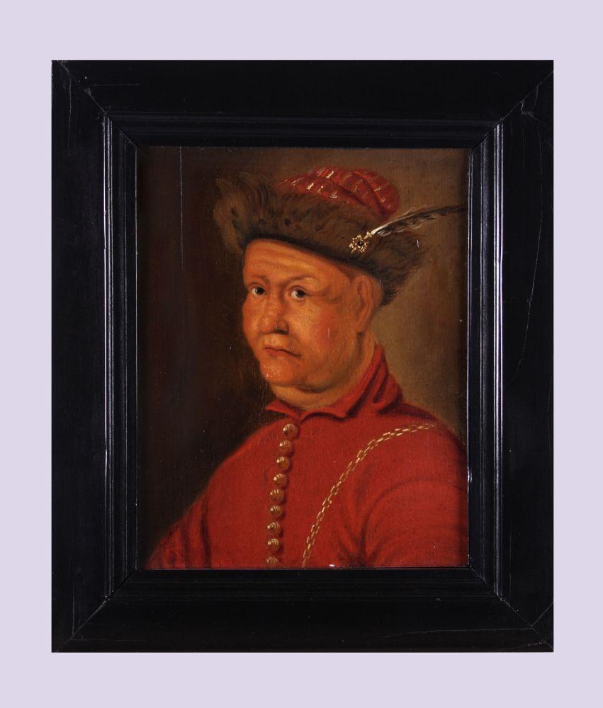 Portret van Johann Ludwig Hektor graaf van Isolani
