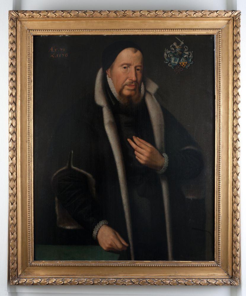 Portret van Jarich van Botnia door Pieter Feddes van Harlingen
