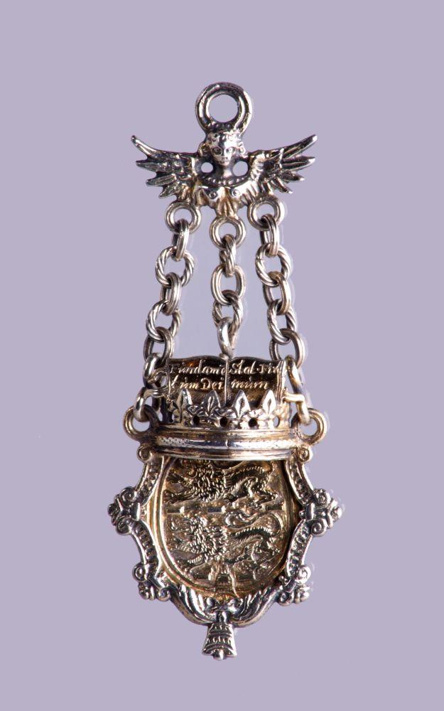 Bodebus met het wapen van de Franeker universiteit