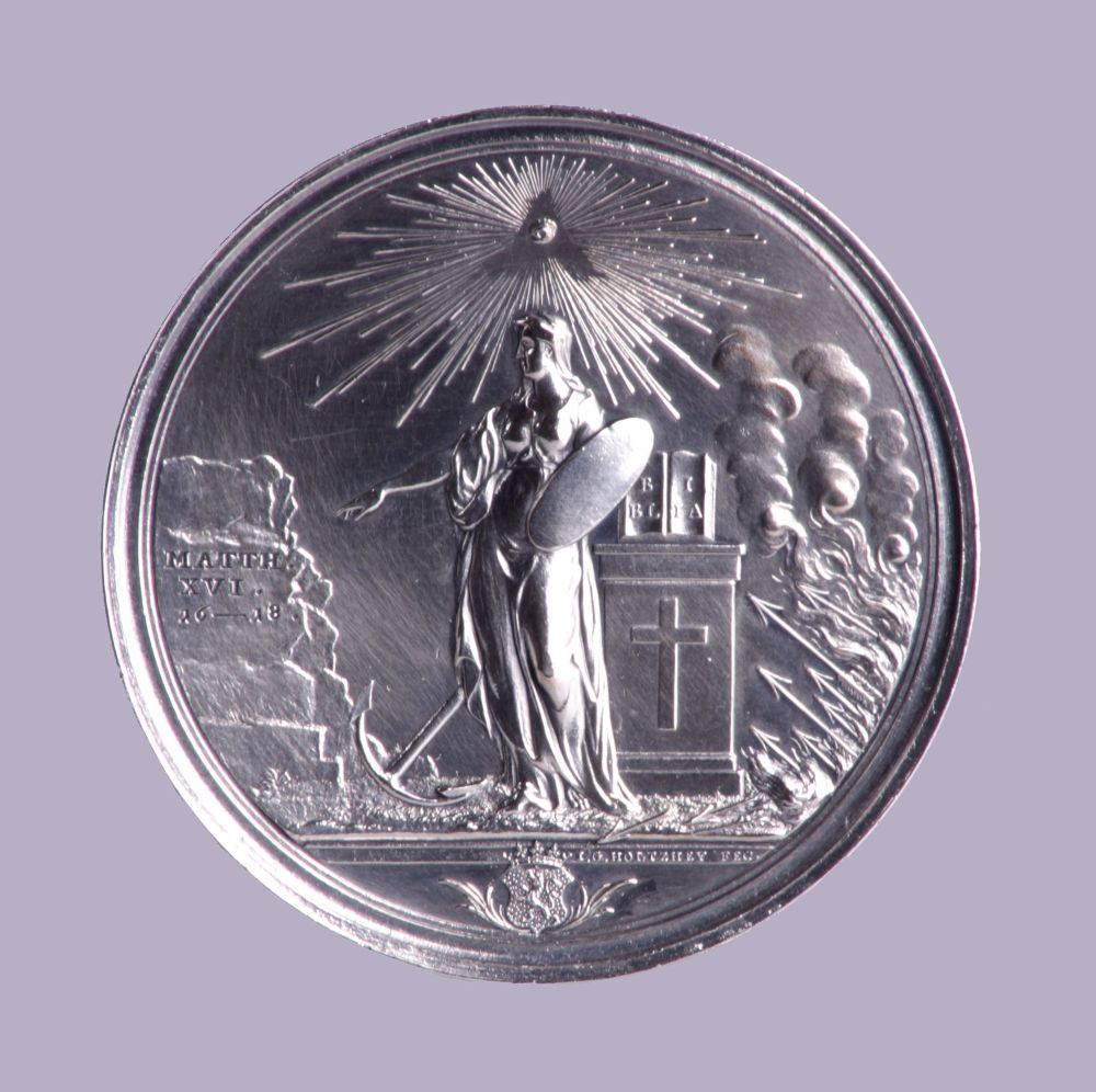 Zilveren medaille voor professor Regenbogen