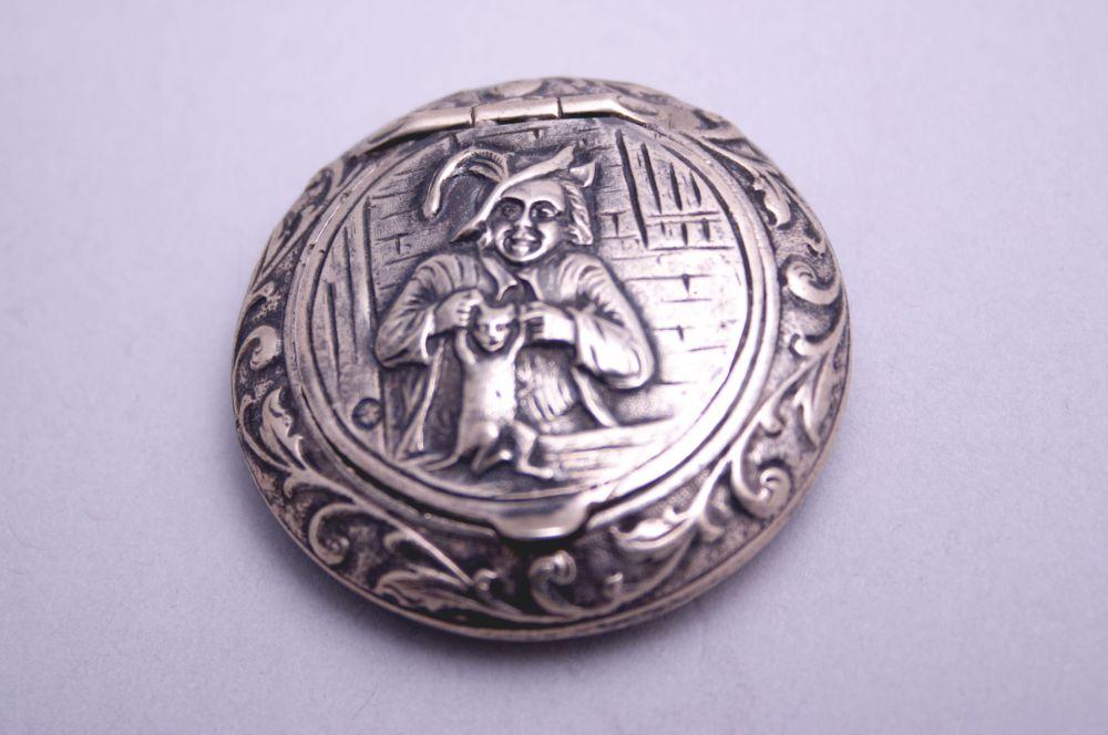 Zilveren snuifdoos door Hollandia