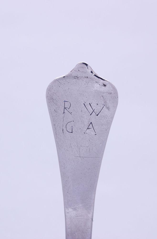 Zilveren lepel door Anthony van Laer