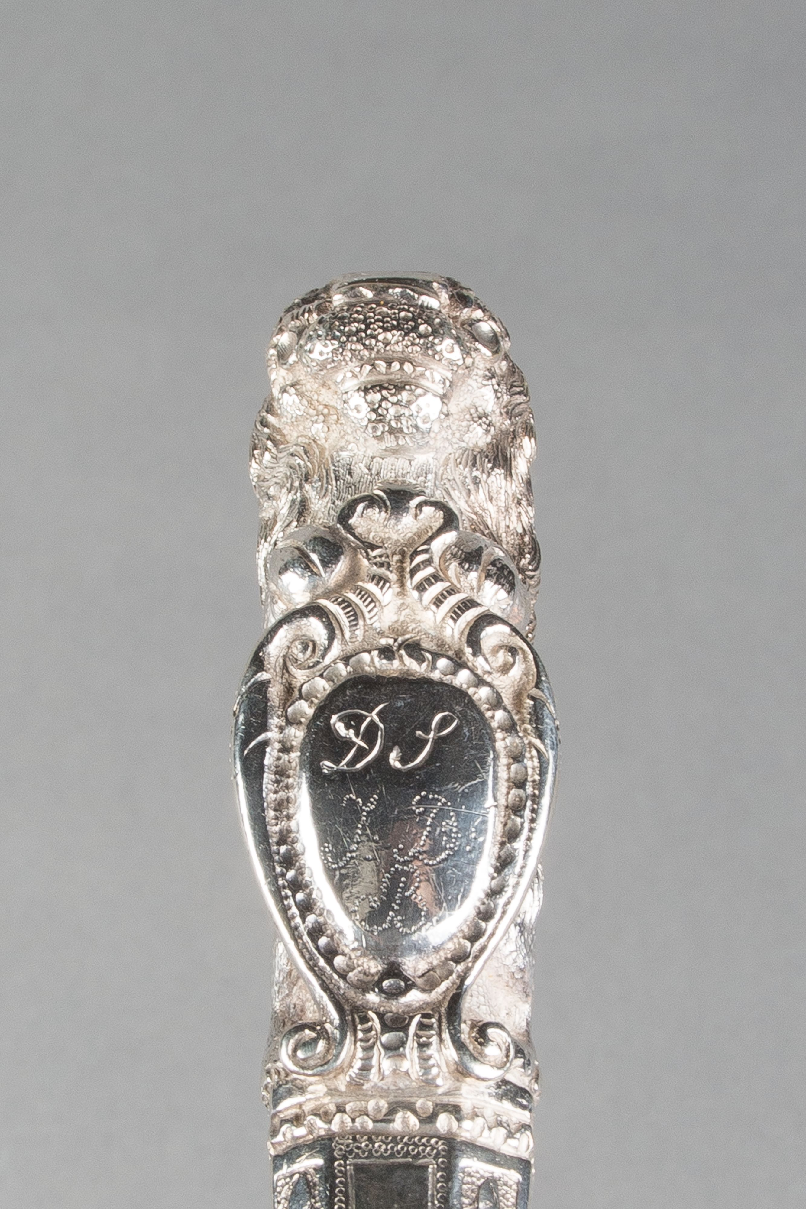 Zilveren mes door Hermanus Lieuwes Fokkens