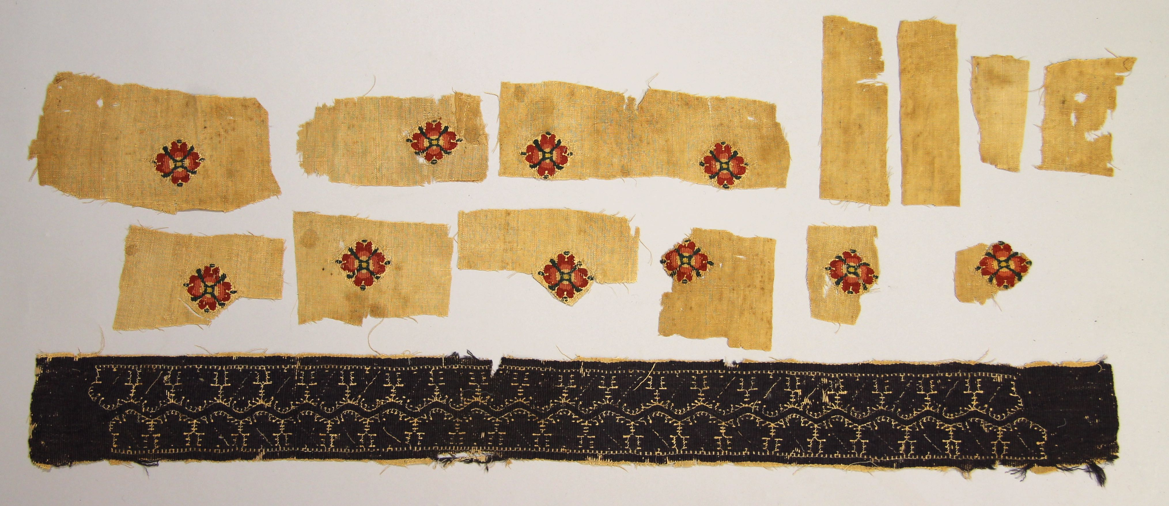 Fragments from a Coptic tunic