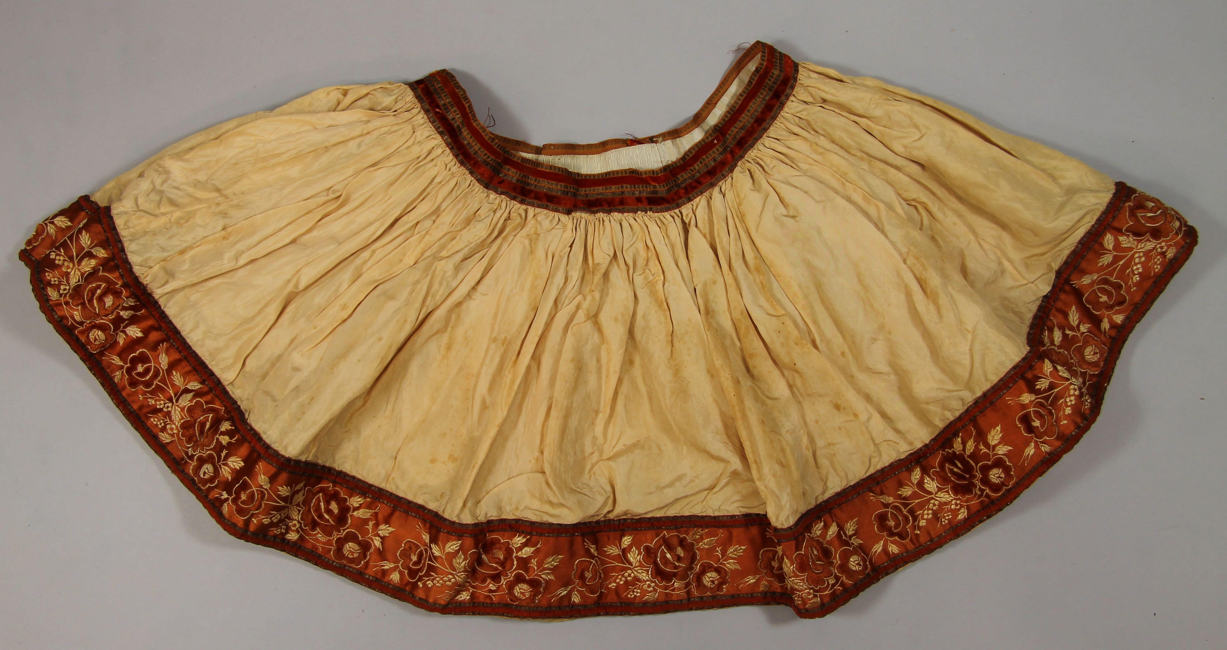 Fustanella [A man's pleated skirt]