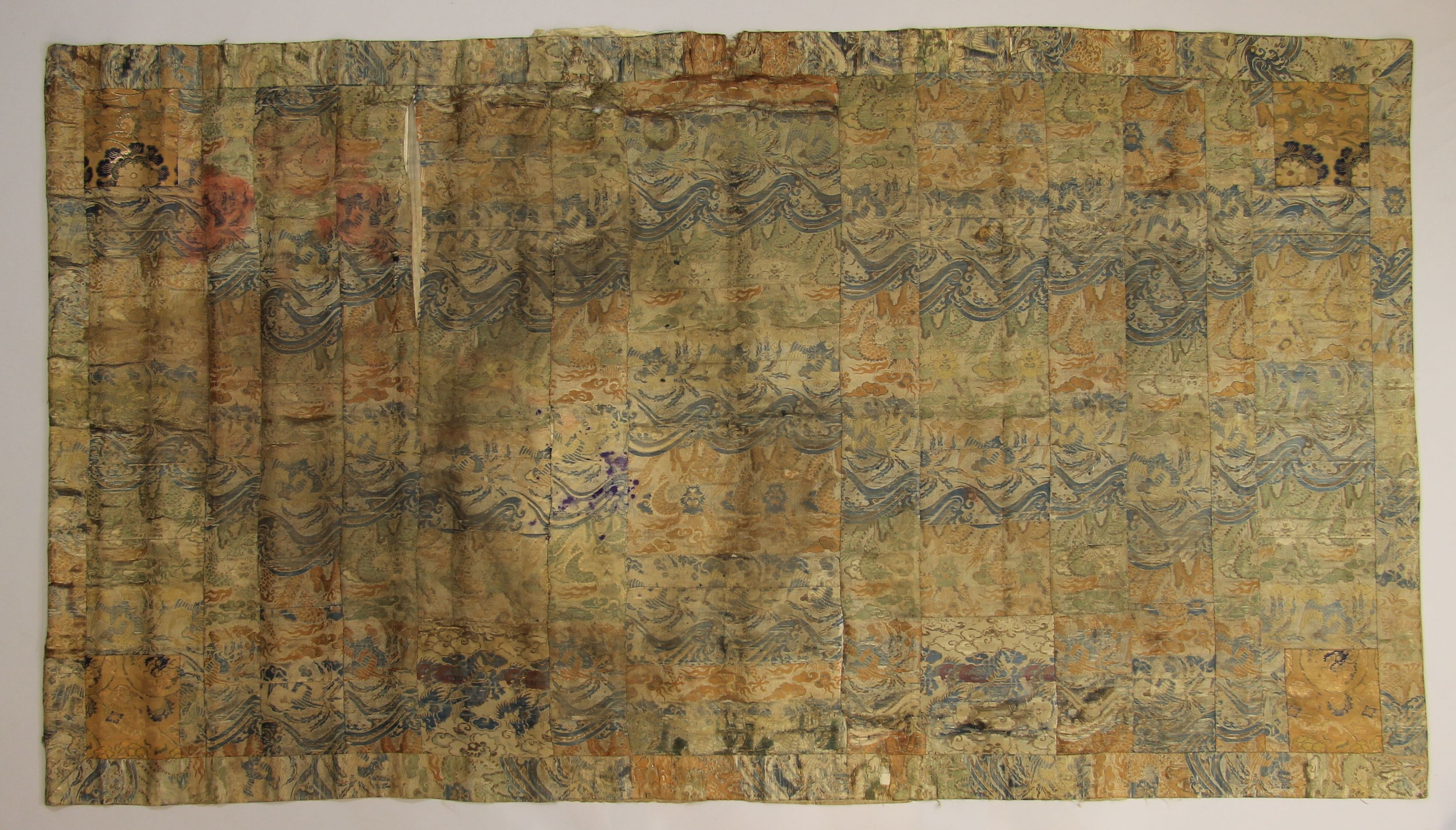 [Brocade panel? Kesi Robe?]