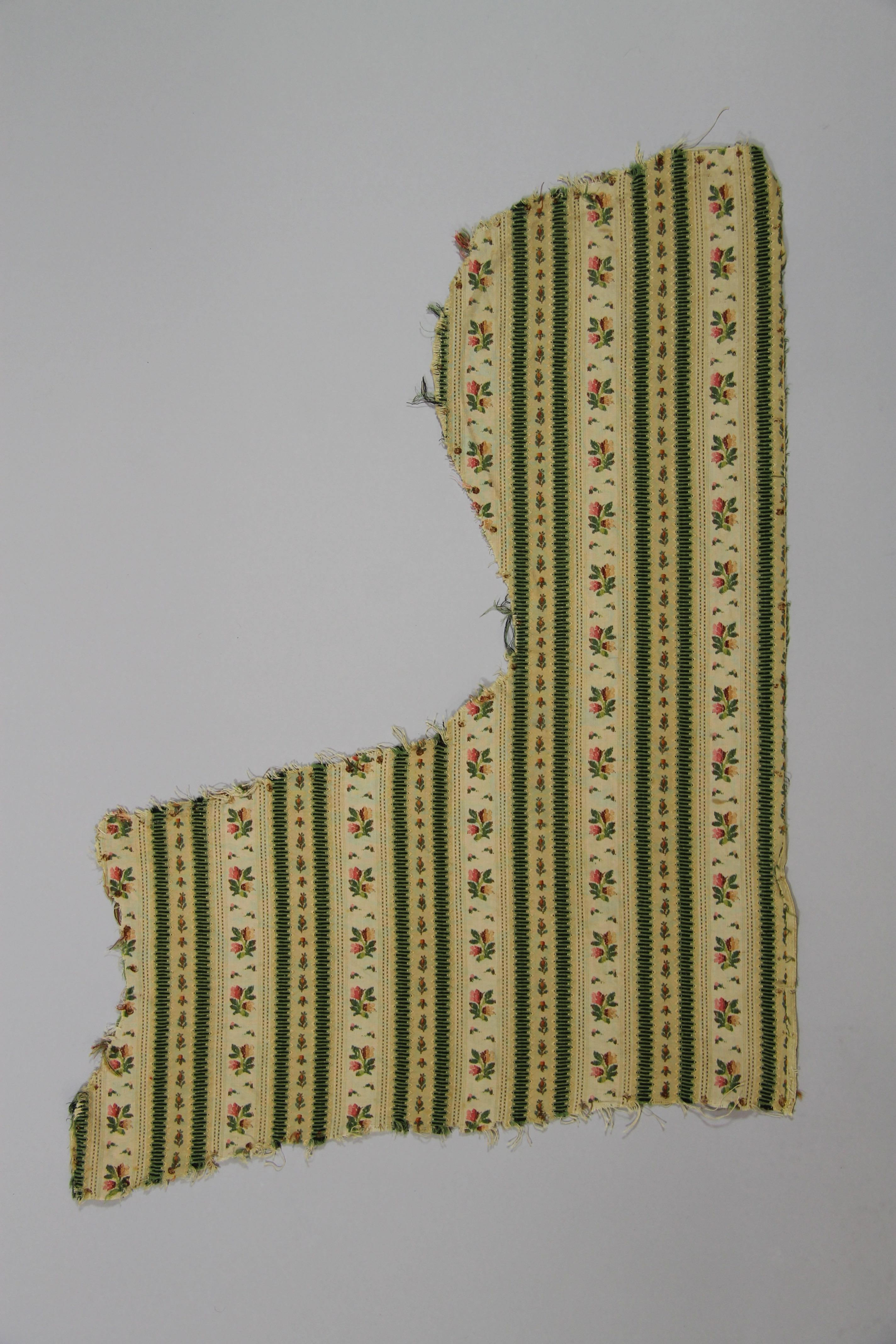 Woven silk cannell� (fragment)