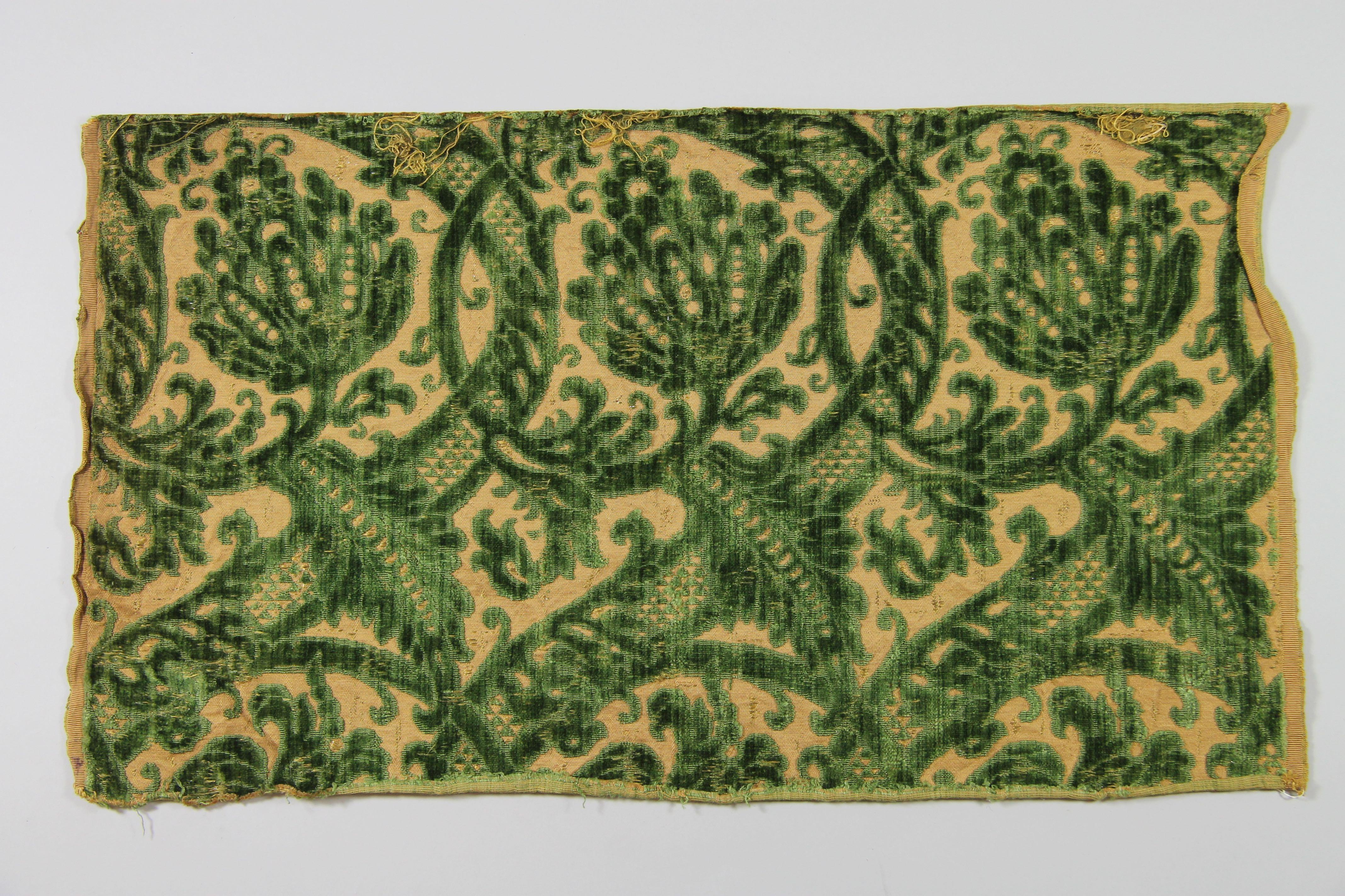 Velvet panel (fragment)