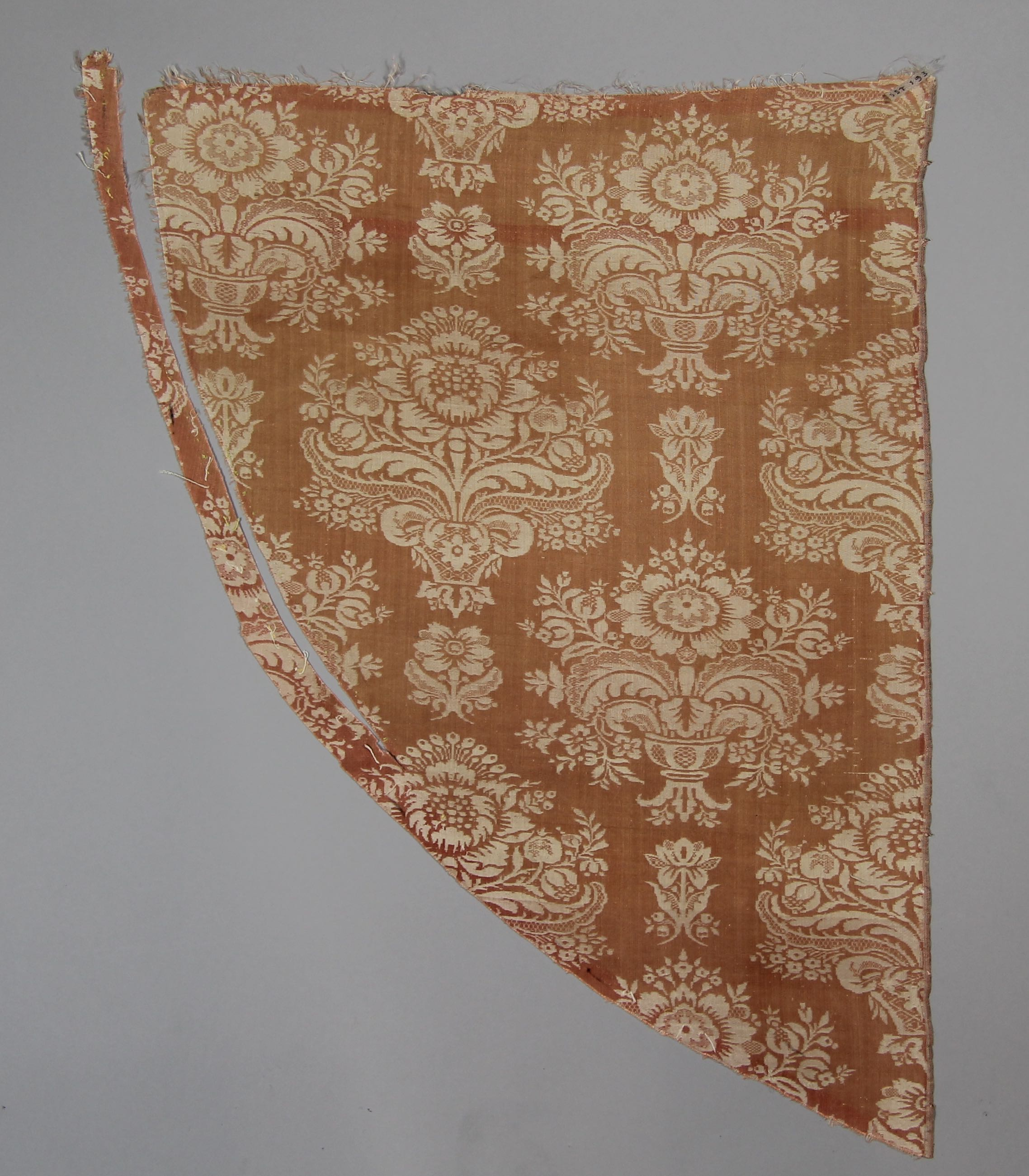 Panel of silk damask (fragment)