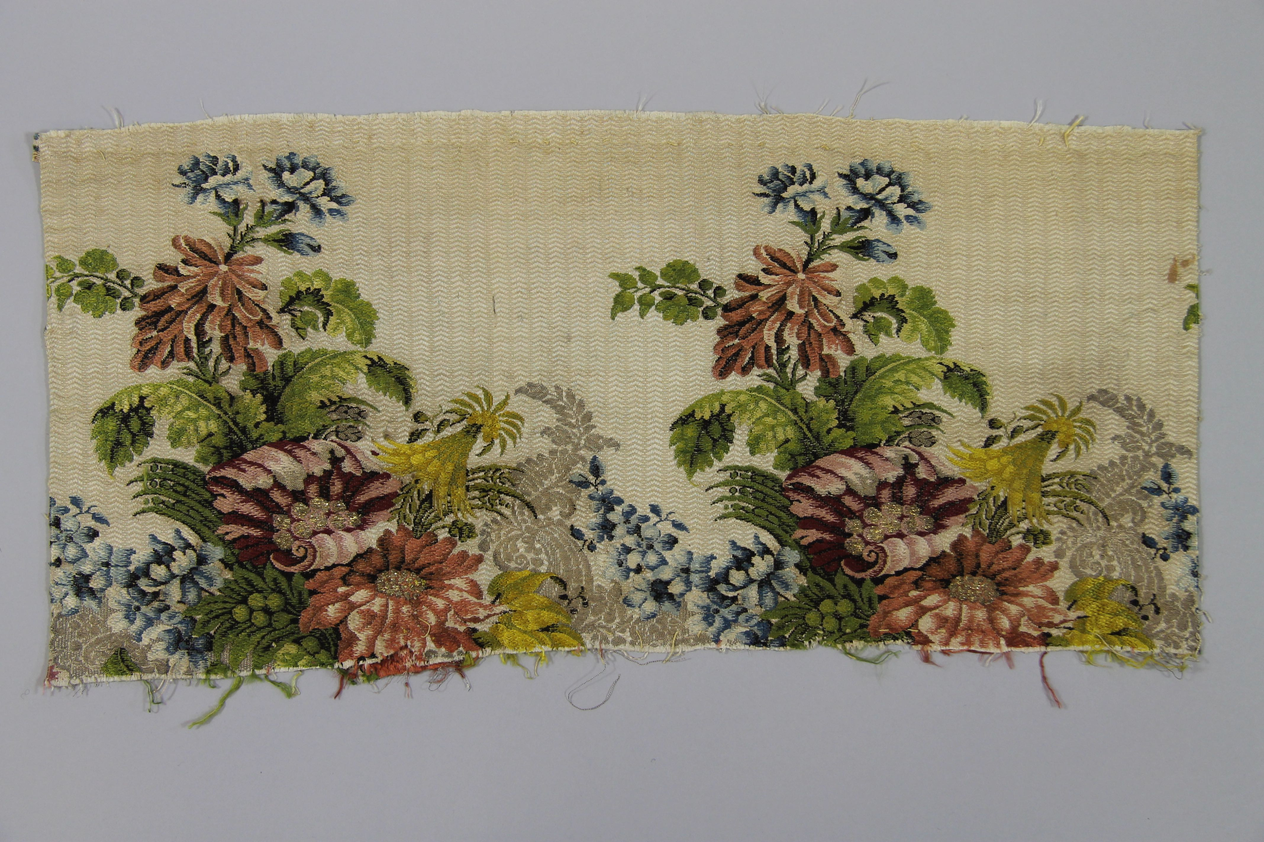 Silk panel (fragment)