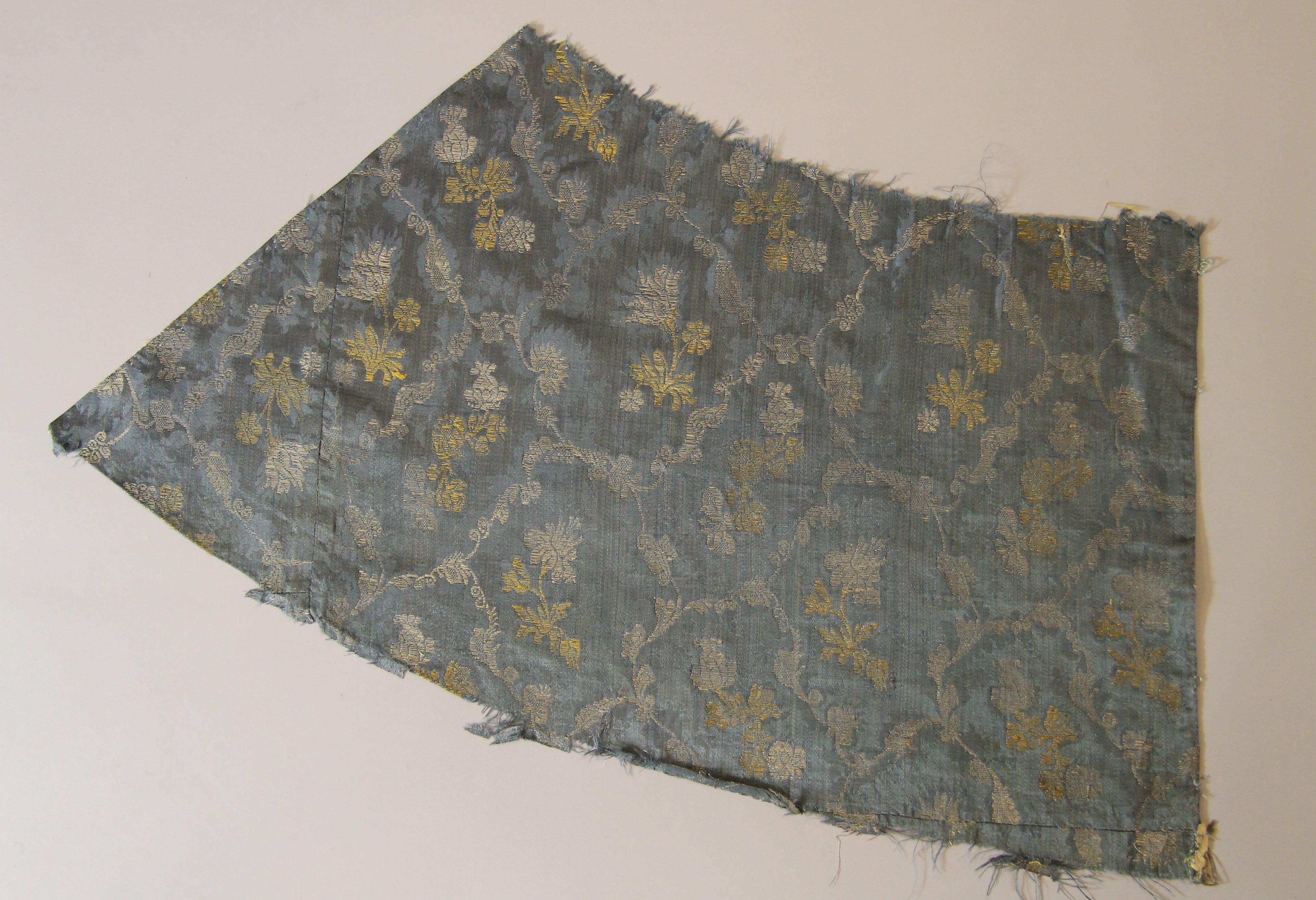 Silk damask (fragment)