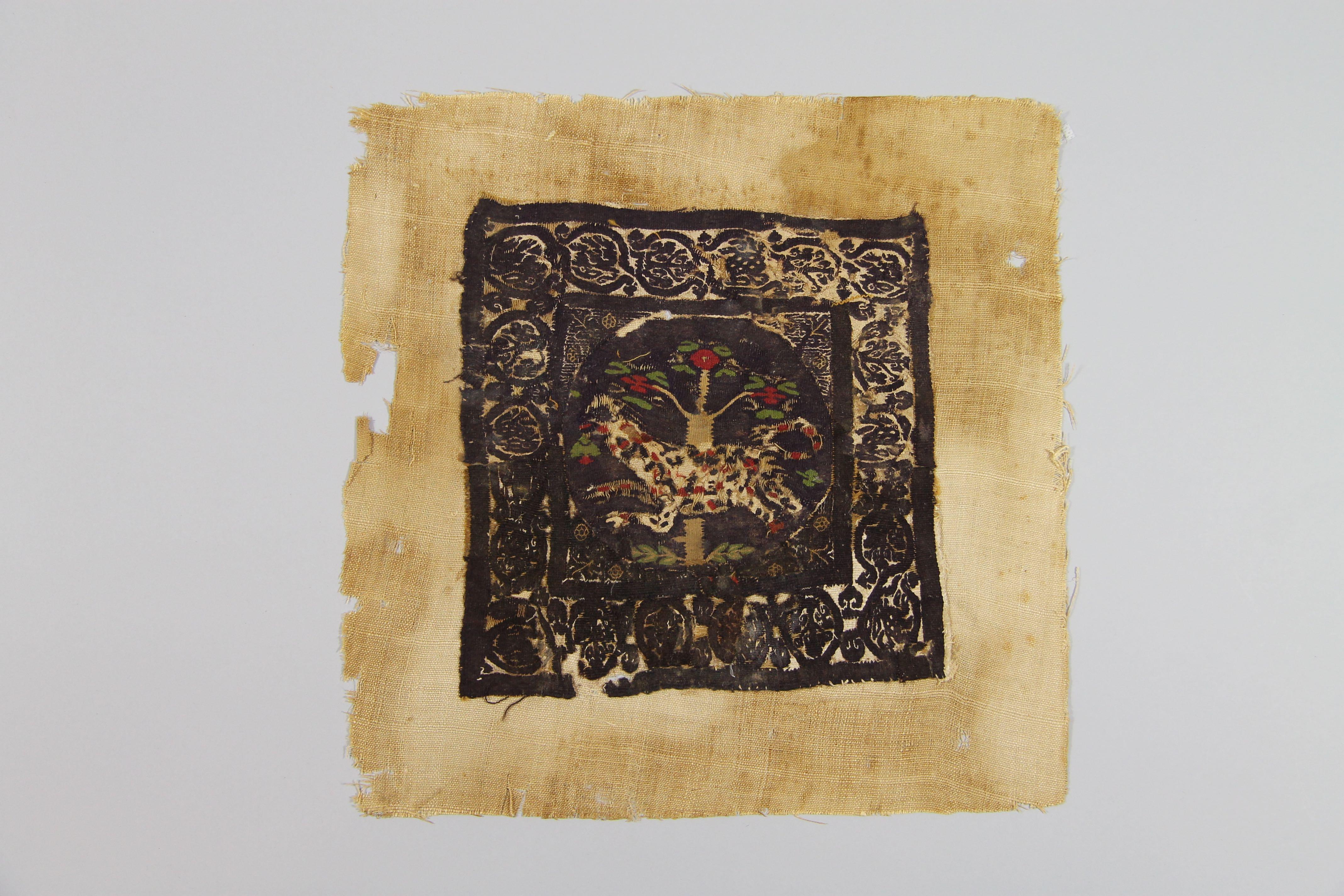 Tapestry panel (fragment)
