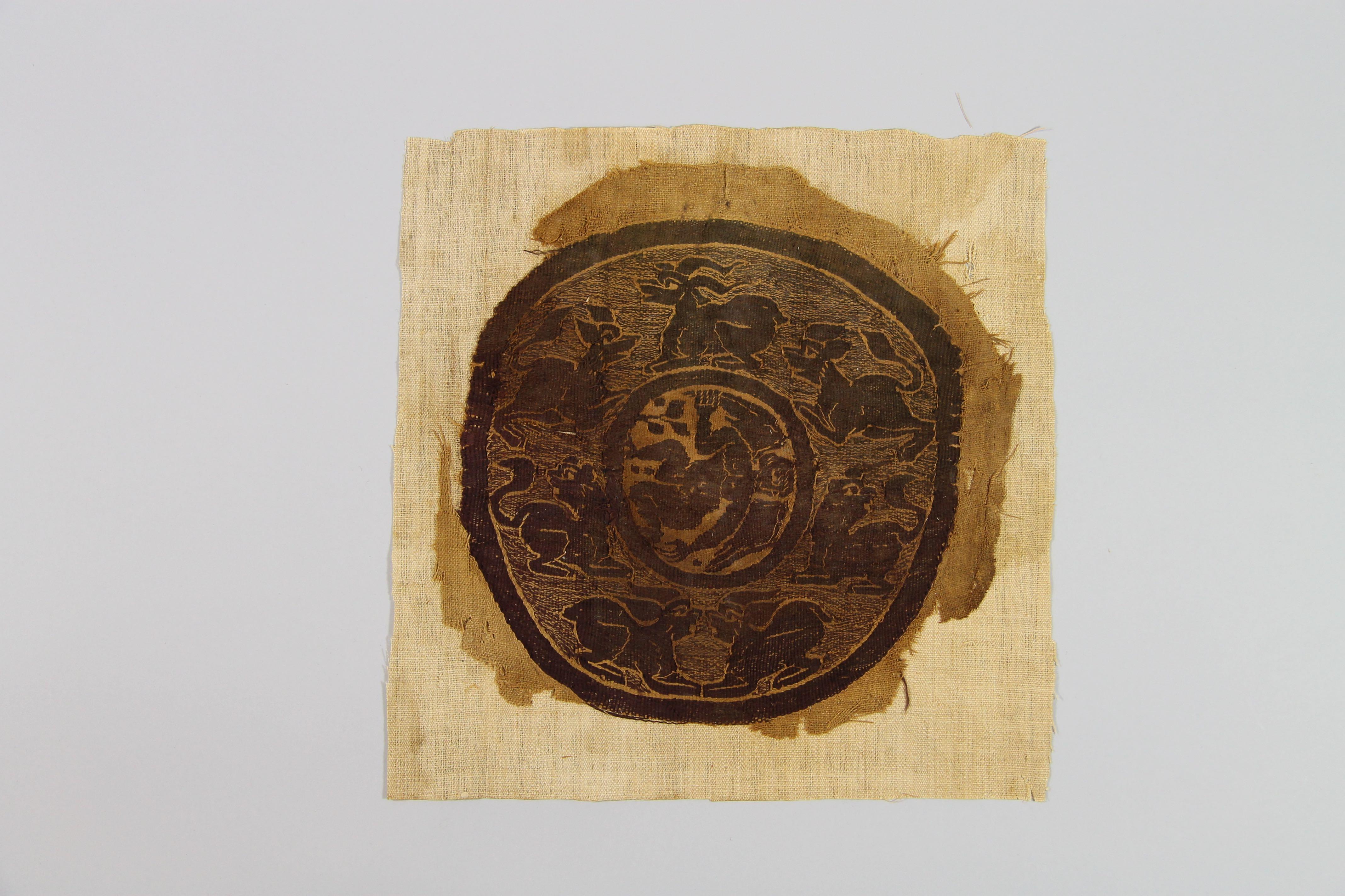 Tapestry roundel (fragment)