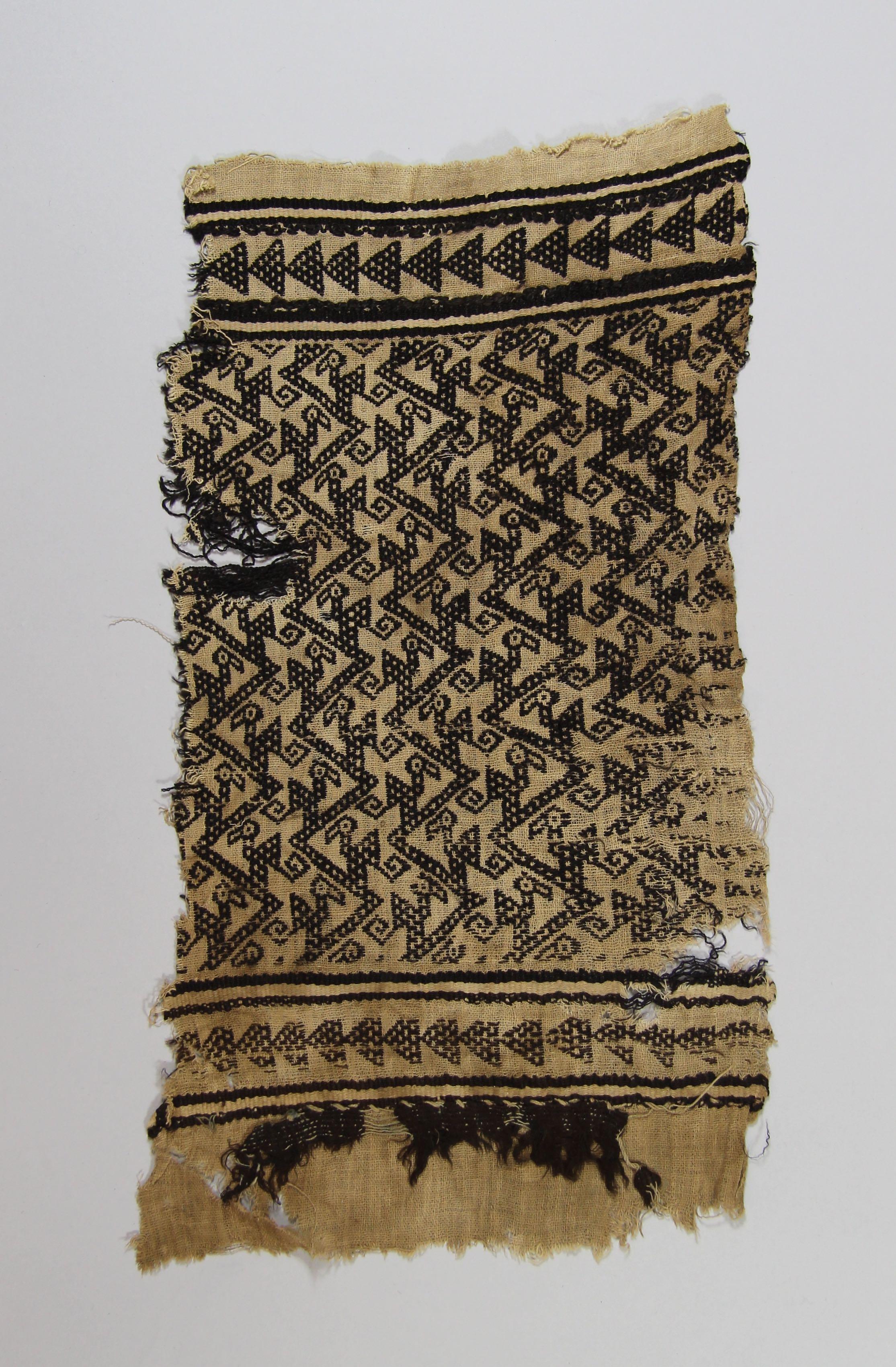 Woven textile (fragment)