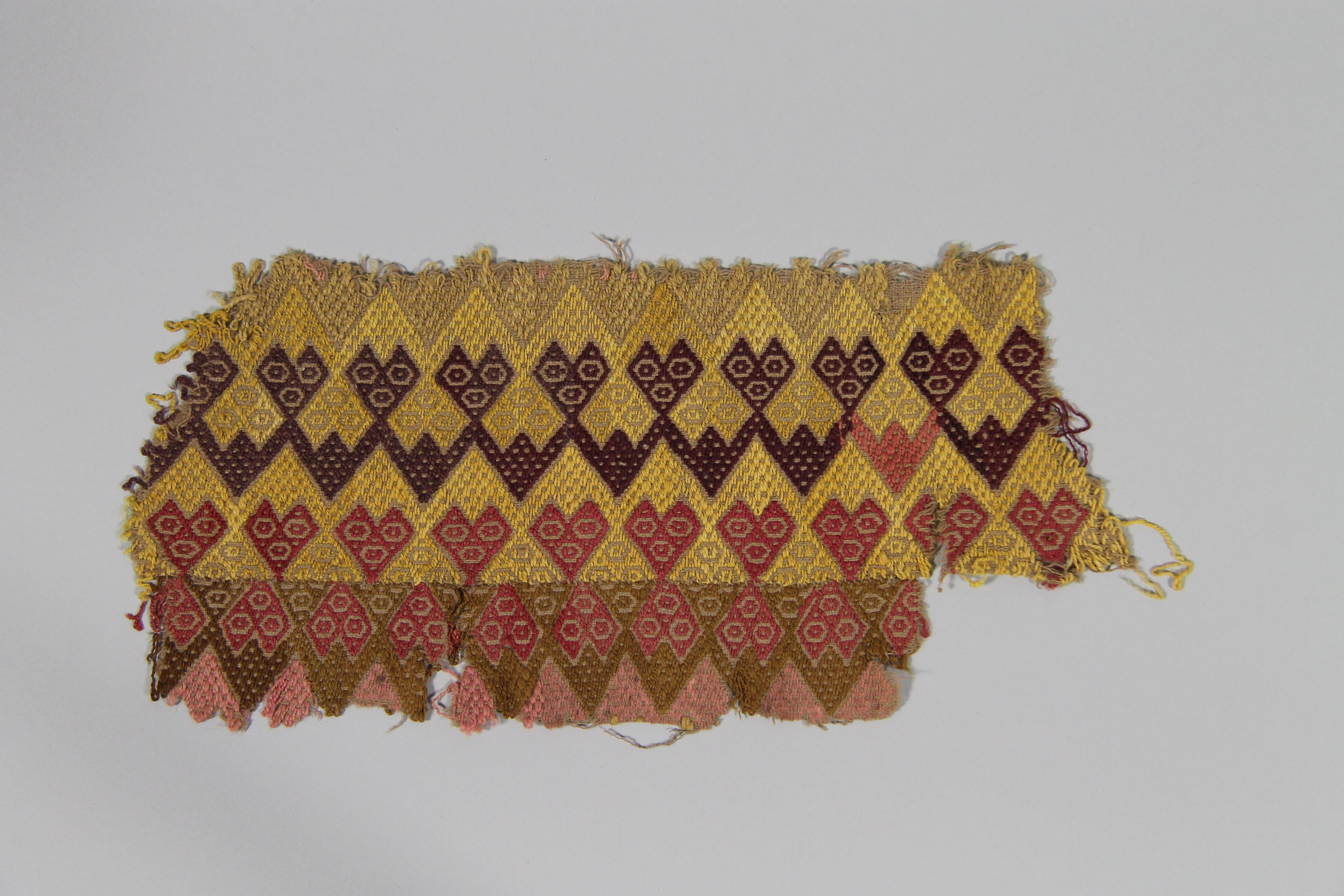 Embroidered textile (fragment)