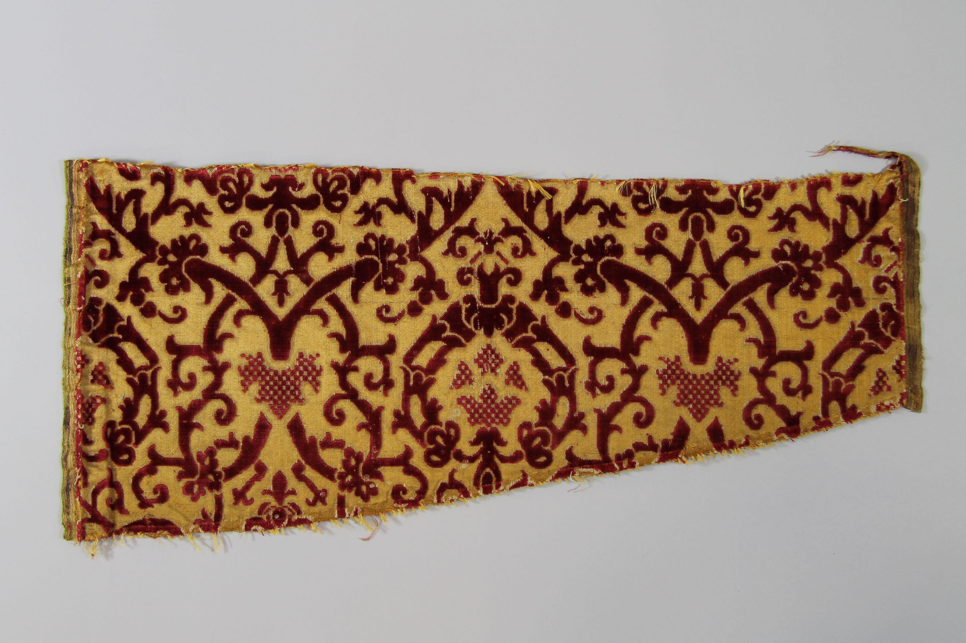 Silk velvet (fragment)