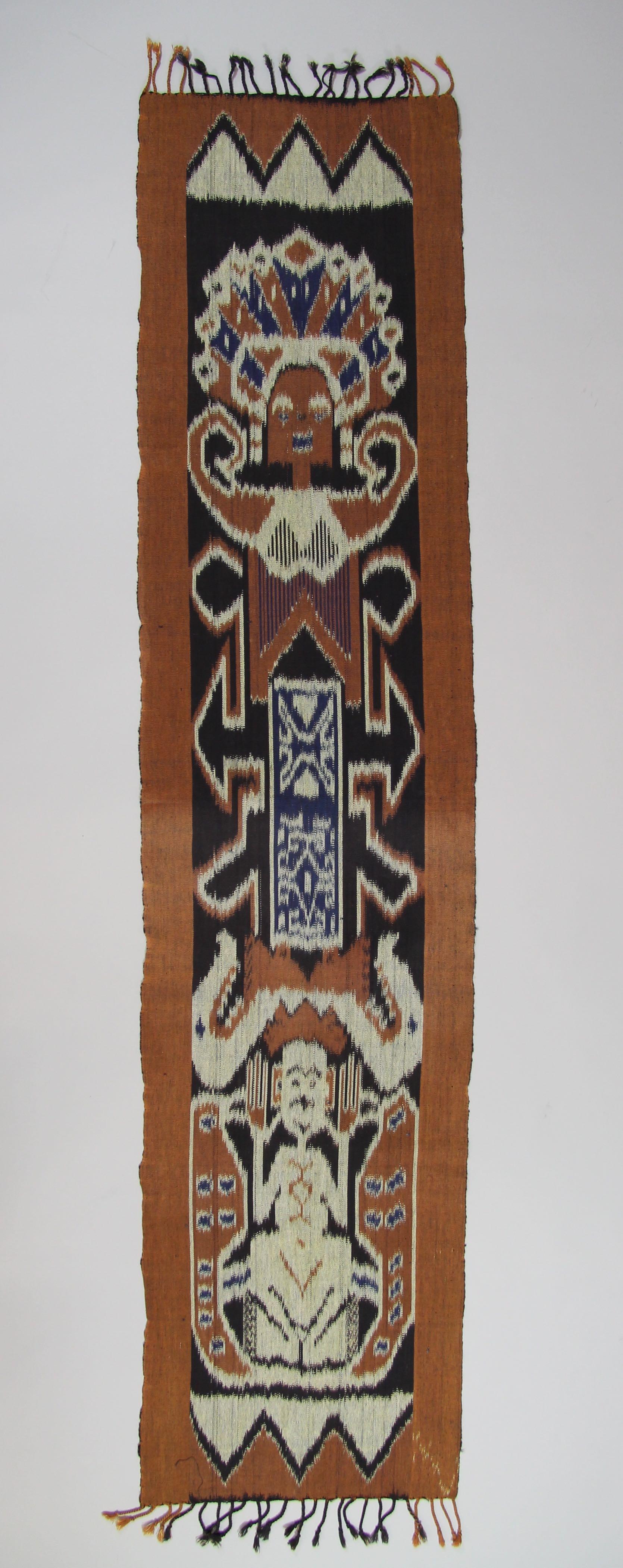 Ikat panel or sash