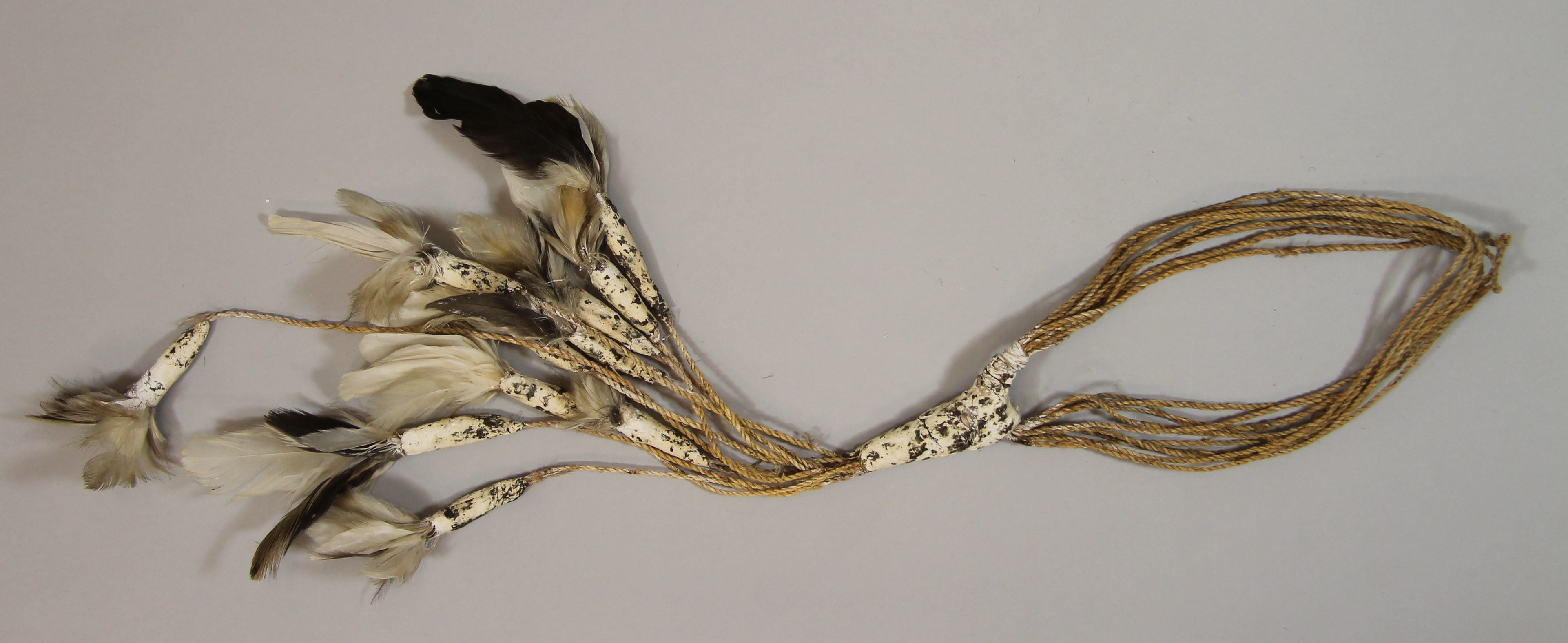 Head band with feathers