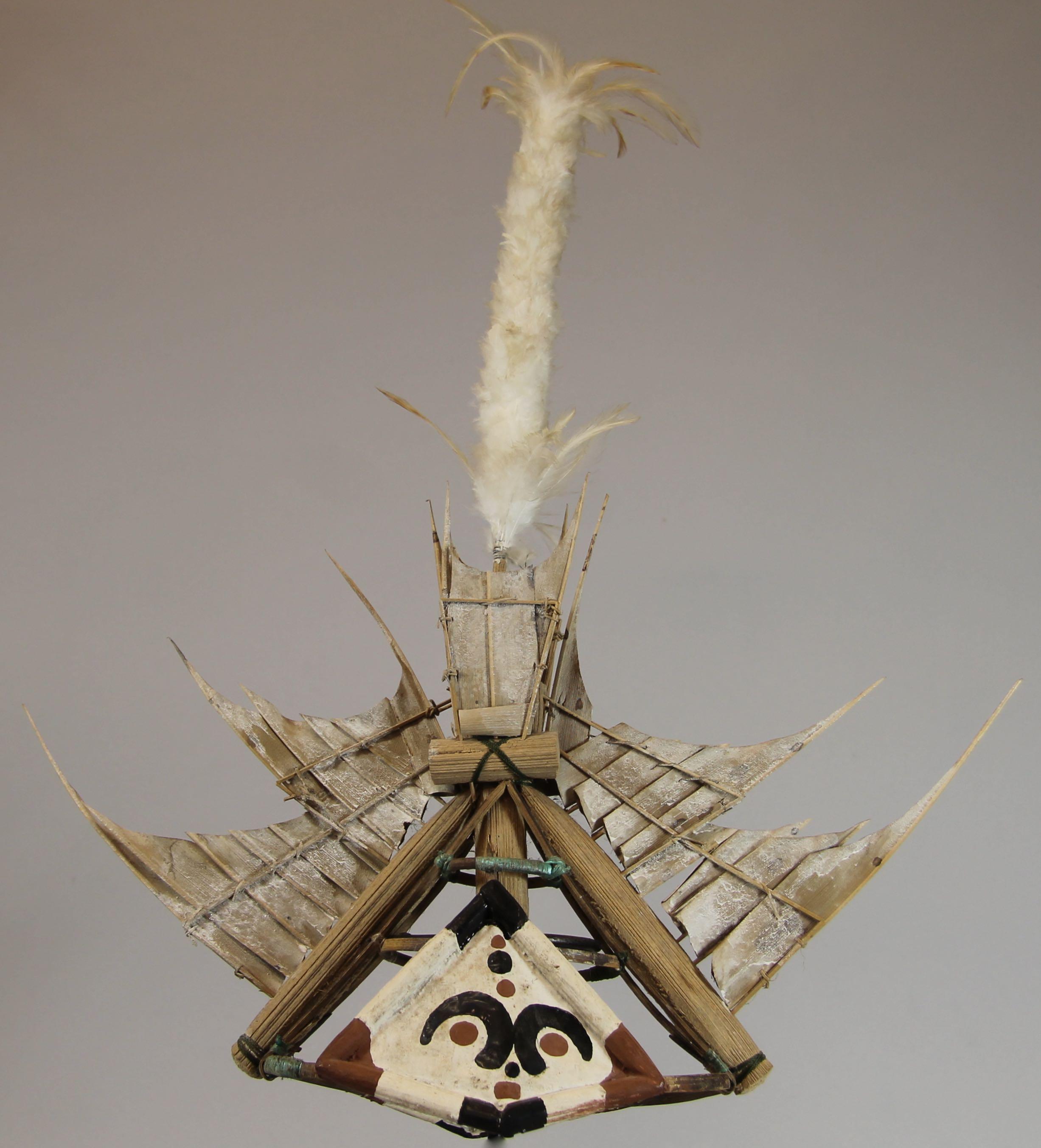 Ceremonial dance headdress
