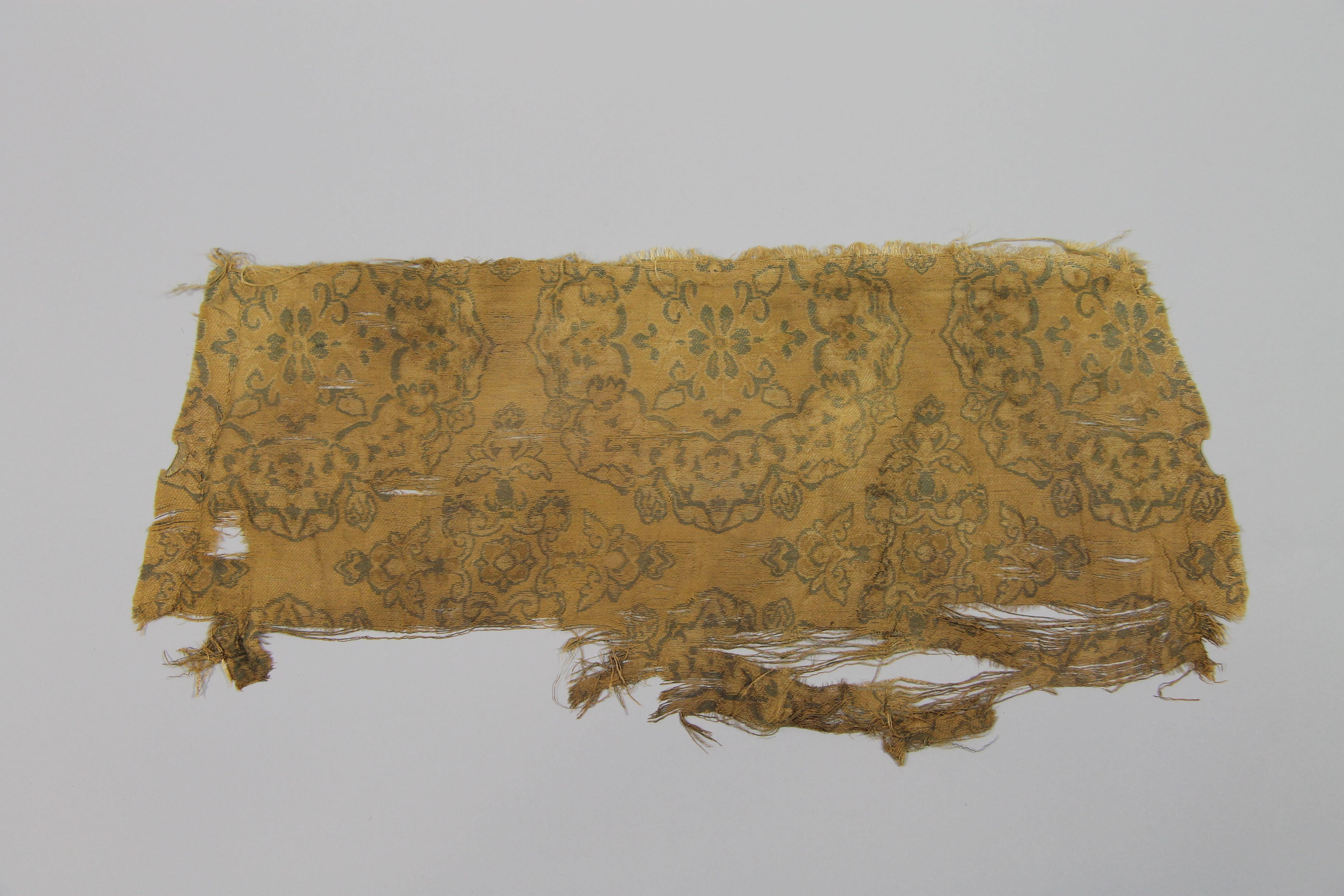 Woven silk (fragment)
