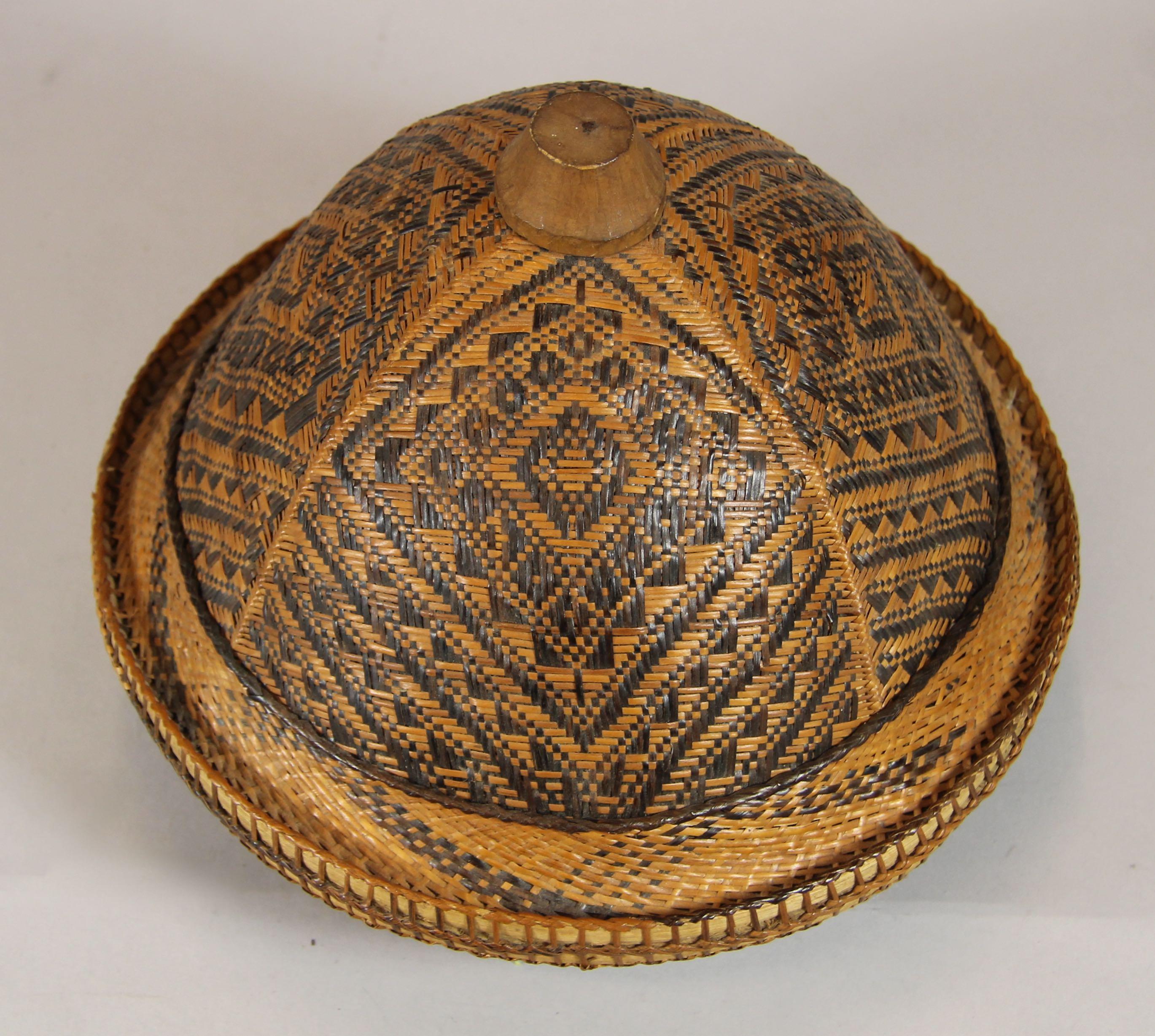 Plaited hat
