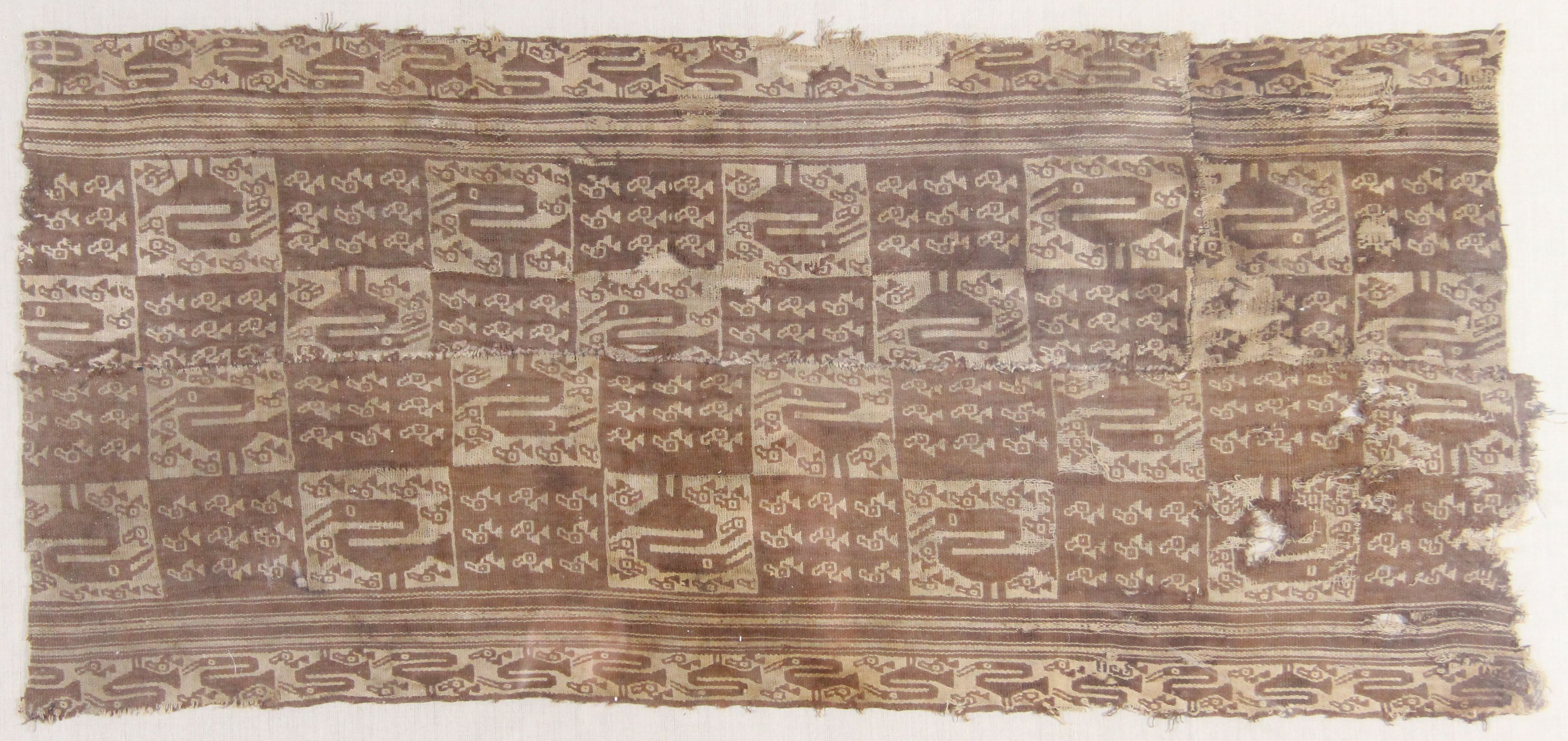 Woven wool textile (fragment)