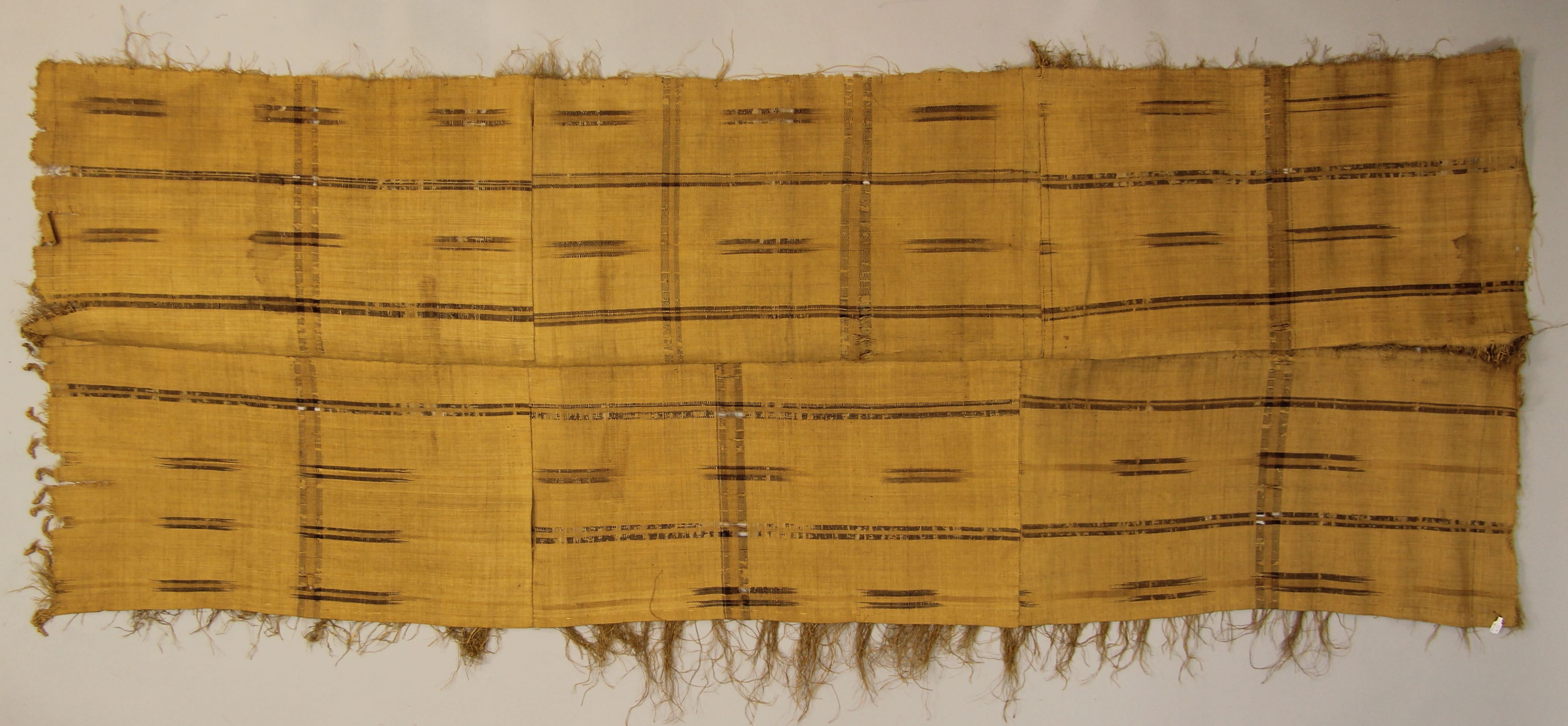 Raffia cloth (skirt?)