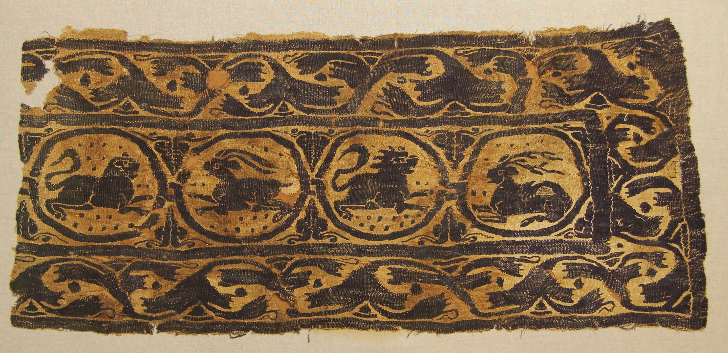 Coptic tapestry (fragment)