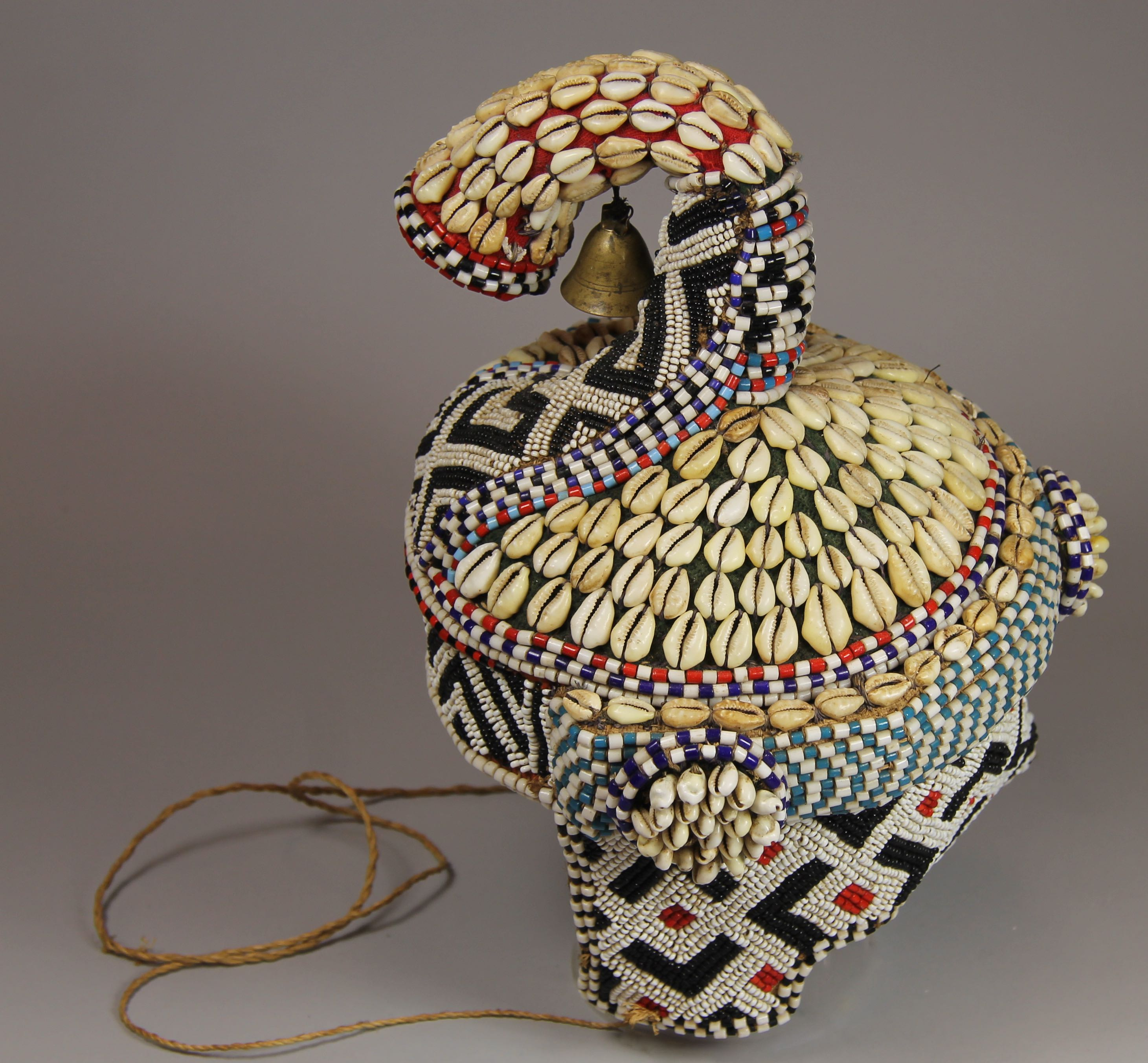 Headdress with bell