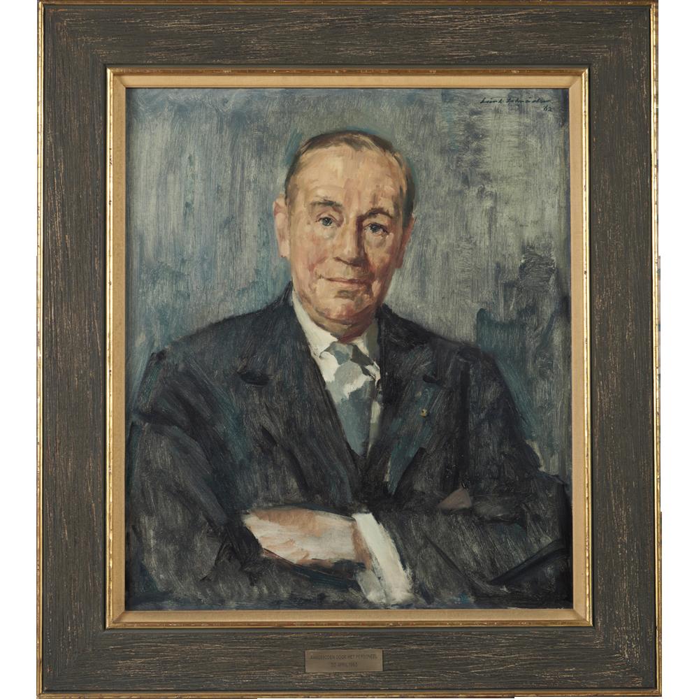 Portret van A.J.M. Verschure, Directeur van Verschure & Co Scheepswerf en Machinefabriek te Amsterdam
