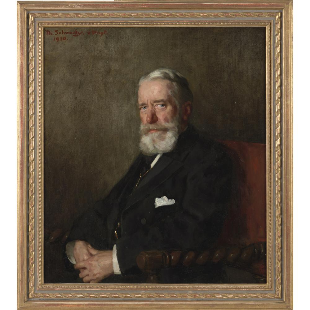 Portret van Albertus Vinke