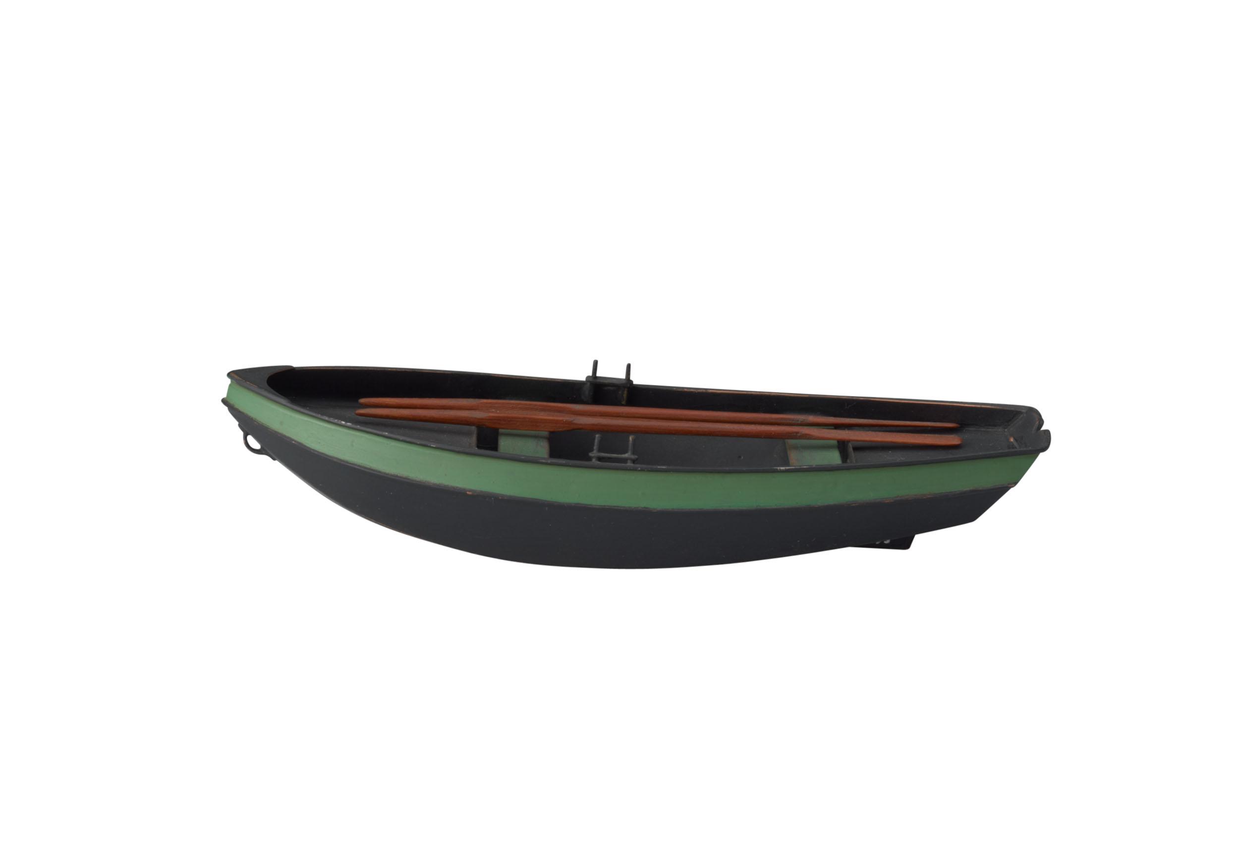 Model van een Turry vlet