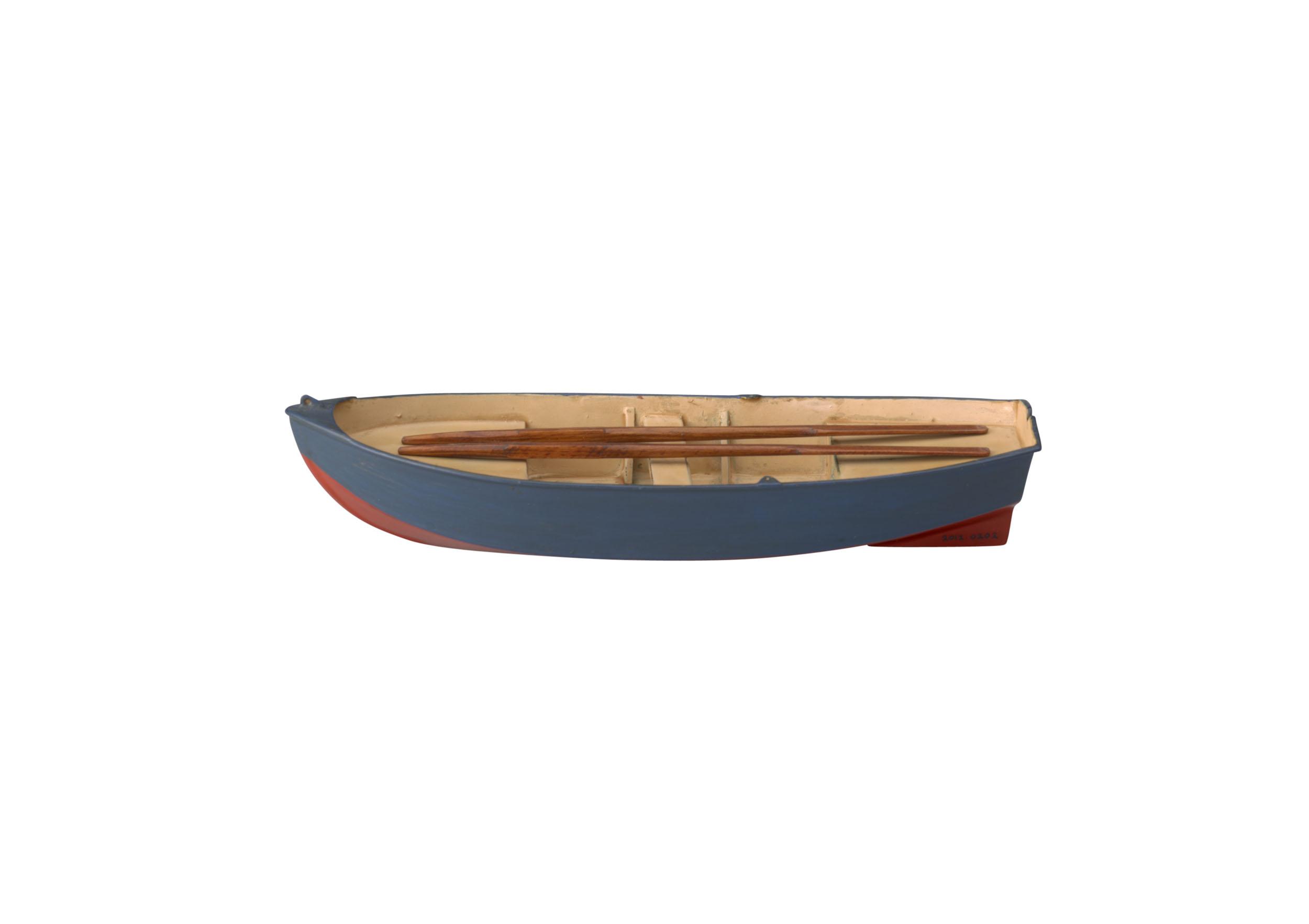 Model van een Franse schippersboot