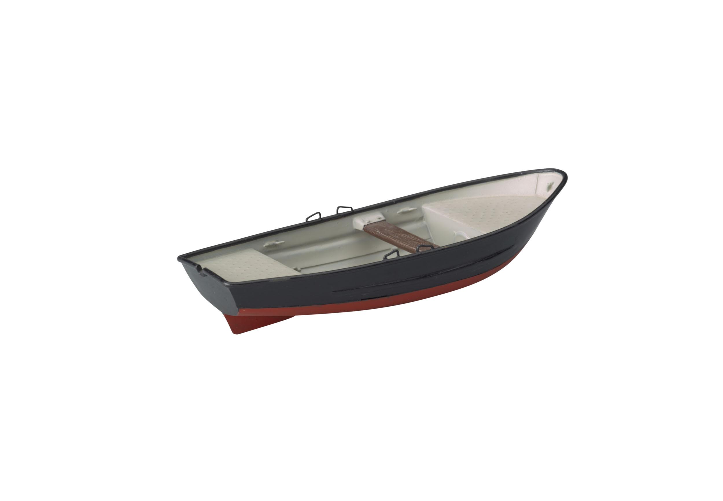 Model van een Duitse schippersboot