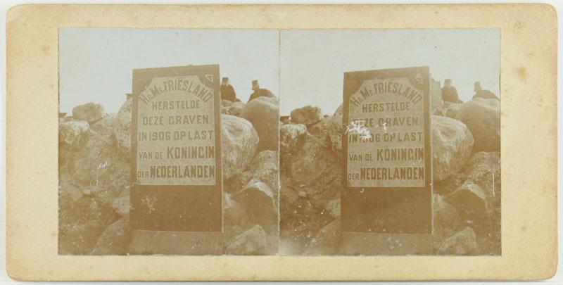 Eén van een serie van vier stereofoto's gemaakt door W. Brunings tijdens zijn reis als jong [...]