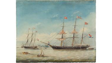 Het barkschip Argonaut