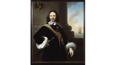 Portret van de extra-ordinaris kapitein Isaac Sweers