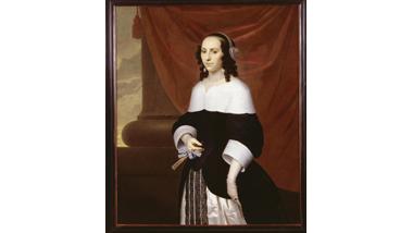Portret van Constantia Bloemaert, echtgenote van Isaac Sweers