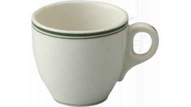 Koffiekopje van porselein gebruikt door de Koninklijke...