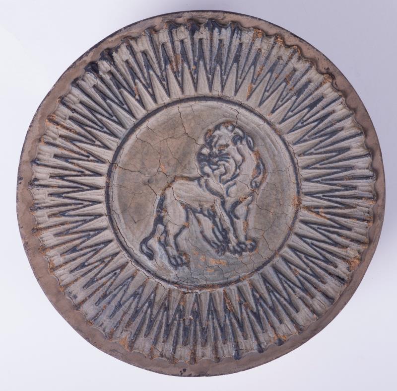 Exportstempel: leeuw