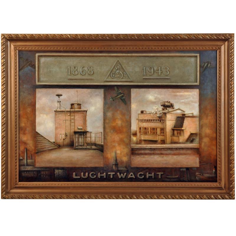 Schilderij: Luchtwacht 1868-1943
