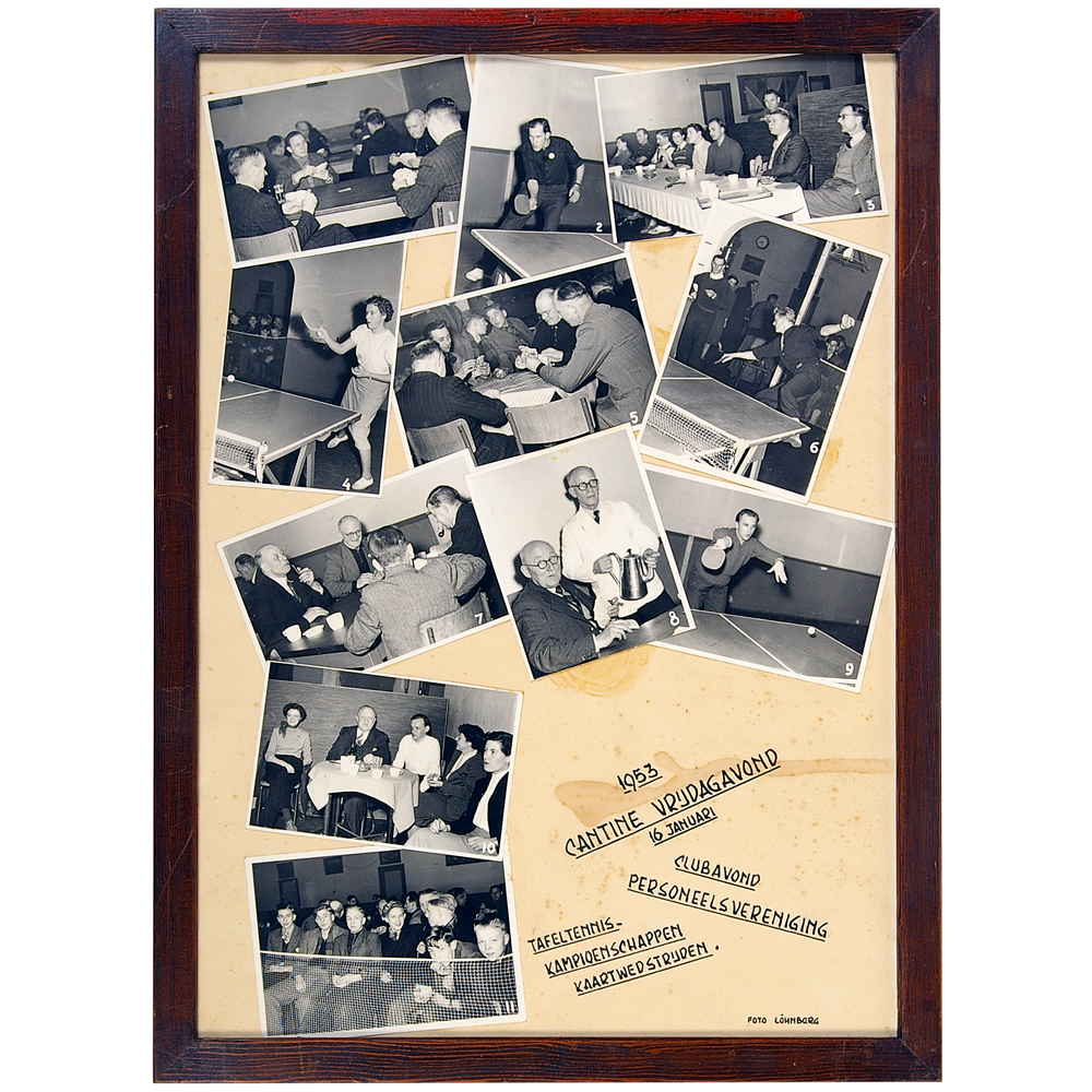 """Foto's in lijst: Fotocollage """"Clubavond personeelsvereniging"""""""