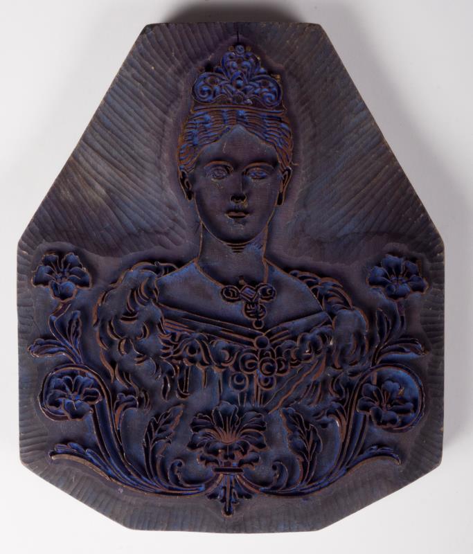 Exportstempel: Koningin Sophia